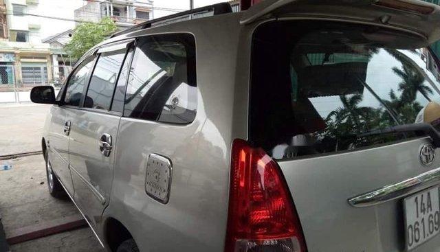Bán Toyota Innova đời 2006, màu bạc, nhập khẩu nguyên chiếc
