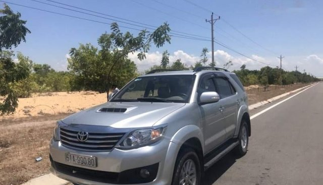 Bán Toyota Fortuner 2014, màu bạc, 745 triệu