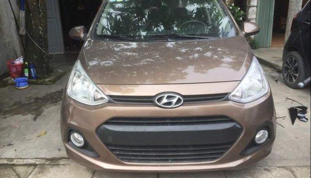 Bán Hyundai Grand i10 đời 2014, màu nâu, nhập khẩu