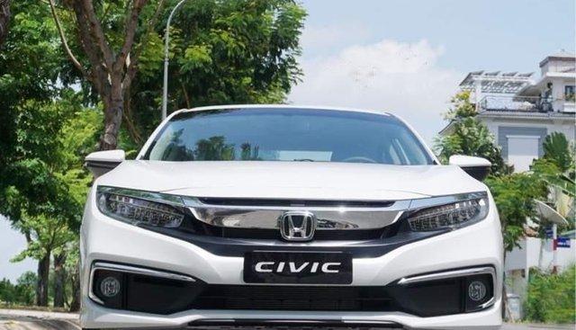 Bán Honda Civic sản xuất 2019, màu trắng, xe nhập, giá tốt