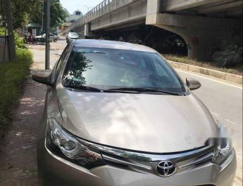 Bán Toyota Vios sản xuất năm 2015, màu vàng cát