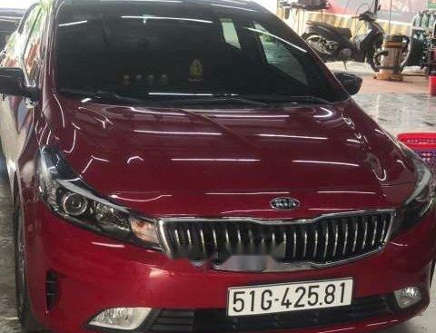 Bán xe Kia Cerato sản xuất năm 2017, màu đỏ chính chủ