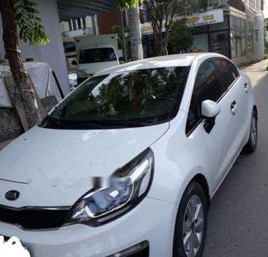 Bán ô tô Kia Rio 2017, màu trắng, nhập khẩu nguyên chiếc, biển số 43