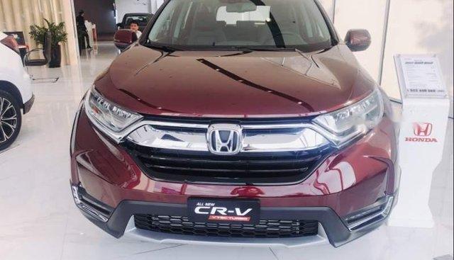 Bán xe Honda CR V đời 2019, màu đỏ, nhập khẩu