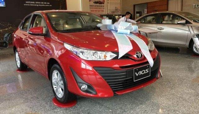 Cần bán Toyota Vios đời 2019, màu đỏ, giá chỉ 540 triệu
