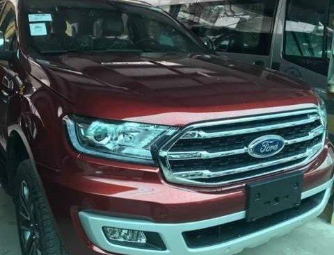 Cần bán xe Ford Everest năm sản xuất 2019, màu đỏ, xe nhập
