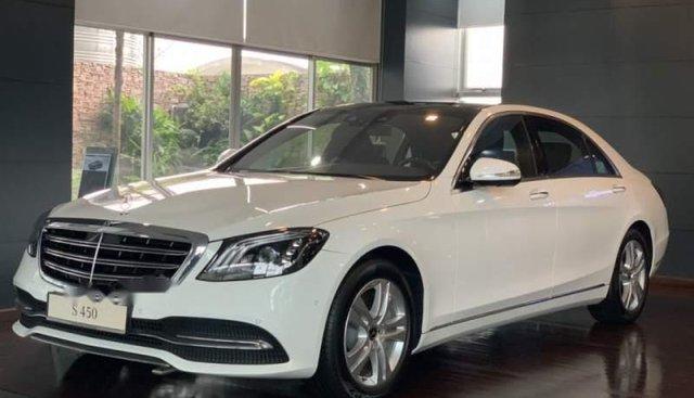 Bán ô tô Mercedes S450 đời 2019, màu trắng