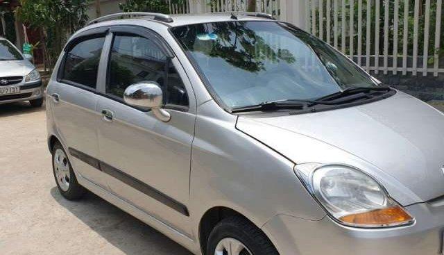 Bán lại xe Chevrolet Spark 2009, số sàn, TNCC sử dụng, màu bạc