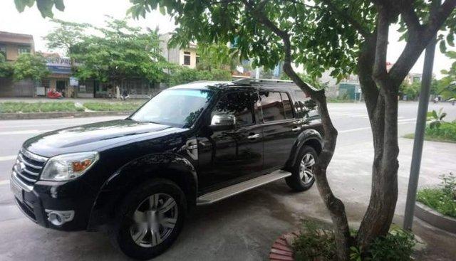 Cần bán xe cũ Ford Everest Limited sản xuất 2010, màu đen