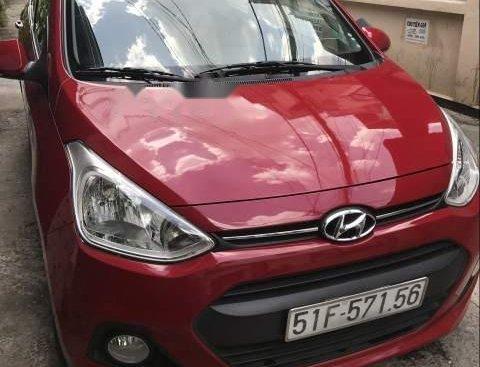Bán Hyundai Grand i10 1.25AT 2015, màu đỏ, xe gia đình