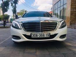 Bán xe Mercedes S400L 2014, màu trắng, nhập khẩu