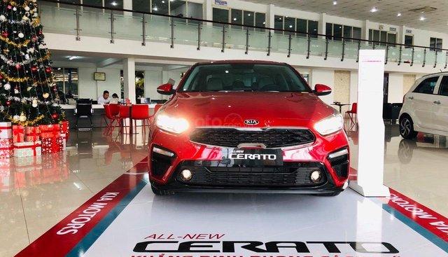 Kia Biên Hòa bán xe Kia Cerato 2019 số tự động bản 1.6 full option, trả góp 8 năm lãi suất cực thấp, L/H: 0933 755 485