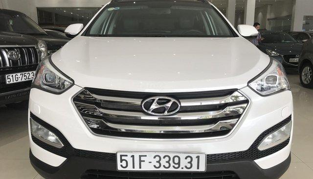 Bán Hyundai Santafe cuối 2015 xăng full option
