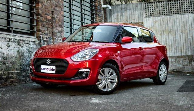 Bán Suzuki Swift GL đời 2019, màu đỏ, xe nhập, 449 triệu