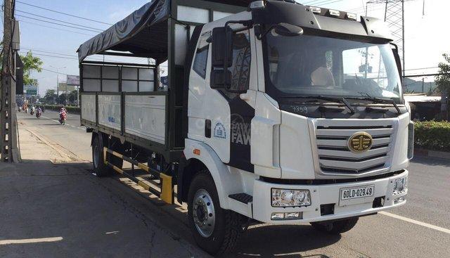 Xe tải Faw thùng dài 9.7m, tải trọng 7.2 tấn, độc quyền Bắc Nam
