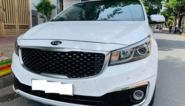 Bán xe Kia Sedona 3.3 GATH 2016, màu trắng, xe gia đình đi ít, giữ gìn, xe như mới