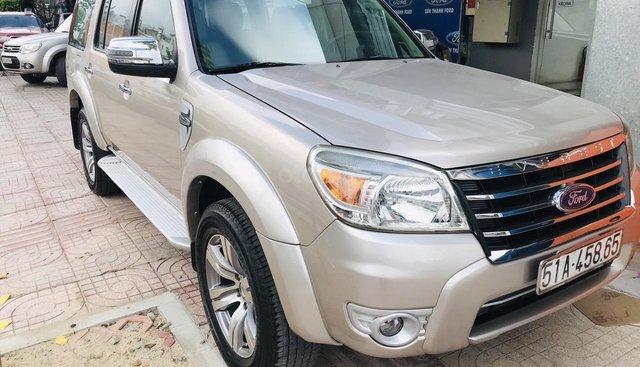 Cần bán Ford Everest 2.5 L AT sản xuất 2009, màu ghi vàng