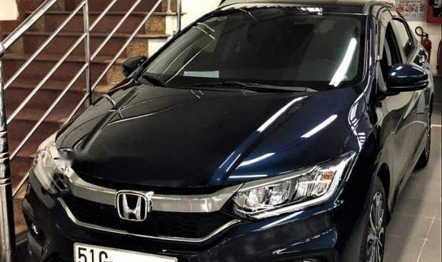 Bán Honda City năm sản xuất 2018, màu xanh lam, 605tr