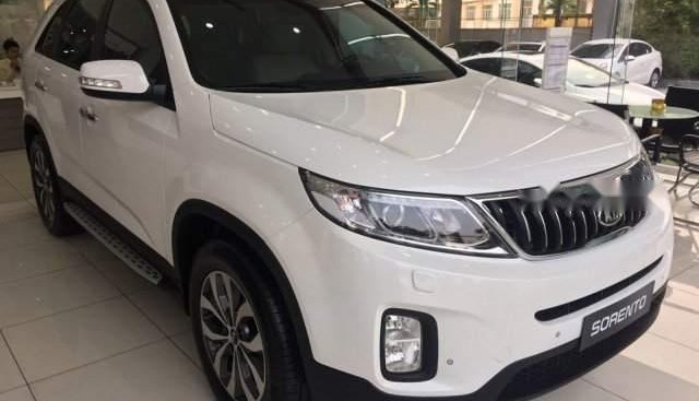 Bán xe Kia Sorento Deluxe G đời 2019, màu trắng, xe nhập