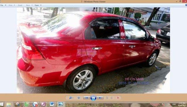 Cần bán lại xe Chevrolet Aveo 2017, màu đỏ xe gia đình, 370tr