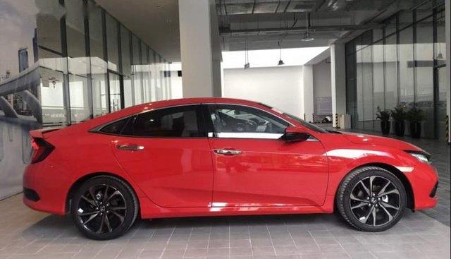 Bán Honda Civic 1.5 Turbo sản xuất 2019, màu đỏ, nhập khẩu, giá 929tr