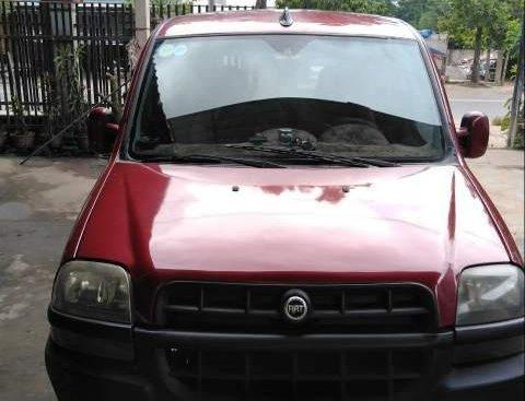 Chính chủ bán Fiat Doblo sản xuất năm 2004, màu đỏ