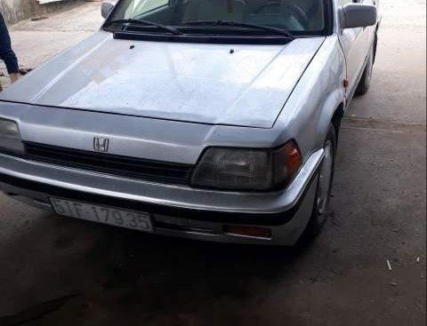 Bán Honda Civic năm sản xuất 1986, màu bạc, xe nhập