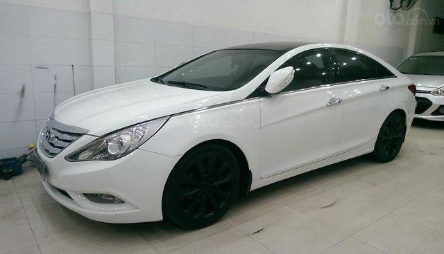 Bán Hyundai Sonata năm 2010, màu trắng, nhập khẩu số tự động