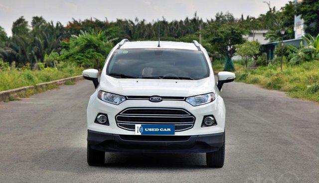 Cần bán xe Ford EcoSport 1.5 Titanium đời 2016, màu trắng, giá 495tr