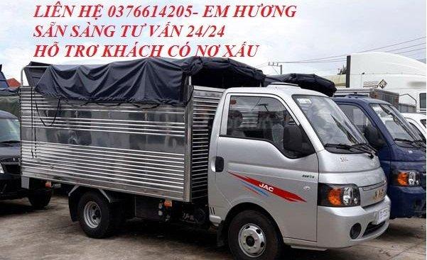 Bán Jac 1,25 tấn thùng 3m2 máy Isuzu, hỗ trợ vay ngân hàng tối đa. LH 0376614205