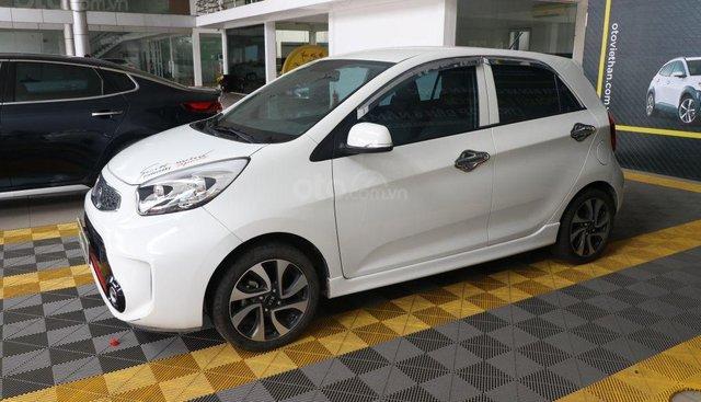 Bán ô tô Kia Morning Si 1.25 MT 2018, màu trắng, giá 336tr