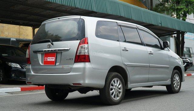 Bán ô tô Toyota Innova 2012, màu bạc, giá chỉ 469 triệu