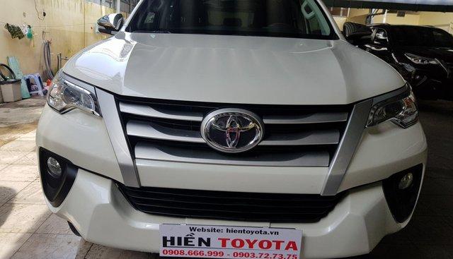 Bán Toyota Fortuner 2.4G đời 2017, màu trắng, xe nhập