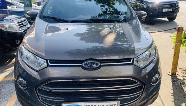 Cần bán xe Ford EcoSport 1.5 L Titanium 2017, màu nâu, giá 539tr