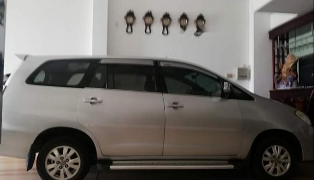 Bán ô tô Toyota Innova đời 2009, màu bạc