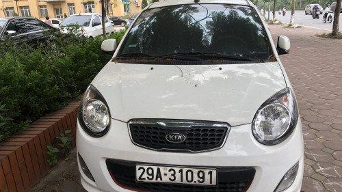 Cần bán Kia Morning AT 2011, màu trắng, giá tốt