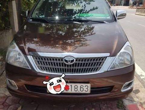 Bán Toyota Innova đời 2007, màu nâu
