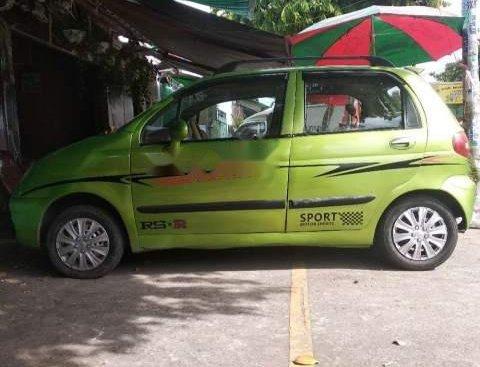 Cần bán lại xe Daewoo Matiz đời 2005, màu xanh lục số sàn