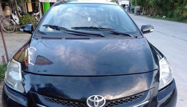 Gia đình bán xe Toyota Vios 1.5 E sản xuất năm 2009, màu đen