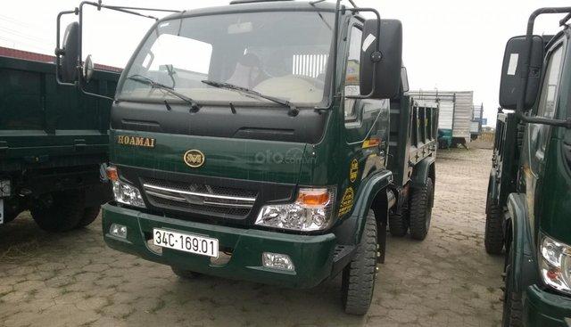 Yên bái bán xe tải ben Hoa Mai 4 tấn nâng tải từ 1.5 tấn lên có phanh hơi, thùng 4 khối đời 2019