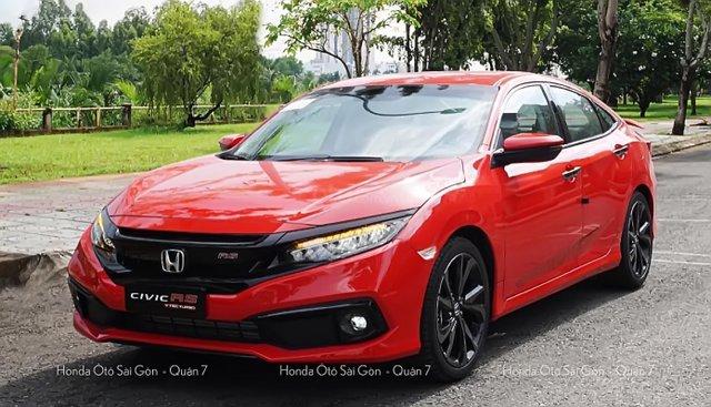 Bán Honda Civic 1.5 Turbo RS 2019 màu đỏ giao ngay