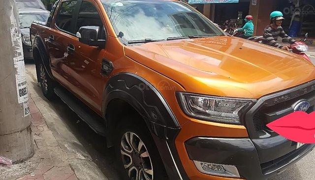 Bán ô tô Ford Ranger Wildtrak đời 2017, nhập khẩu nguyên chiếc, xe đẹp