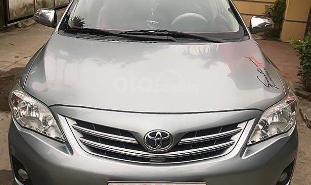 Bán xe Toyota Corolla Altis Sx 2011, xe gia đình đi cẩn thận, không đâm đụng hay ngập nước