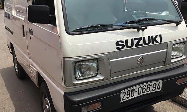 Chính chủ bán Suzuki Super Carry Van sản xuất 2015, màu trắng