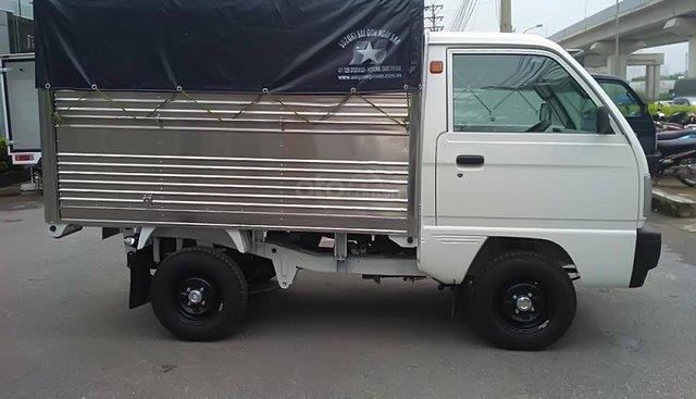 Bán Suzuki Super Carry Truck (5 tạ), chất lượng bền bỉ, khung gầm chắc chắn, thùng xe tiện lợi