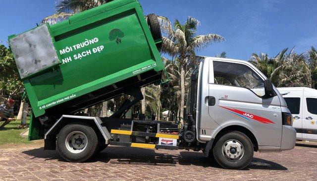 Bán xe ô tô chuyên dùng chở rác, nhãn hiệu JAC 3.5 khối, giá tốt 2019
