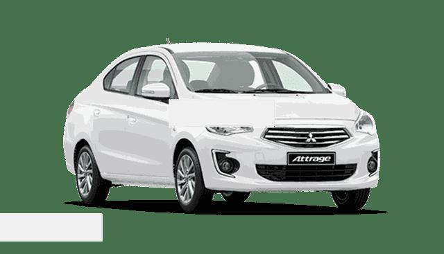 Bán Mitsubishi Attrage đời 2019, màu trắng, nhập khẩu Thái Lan, giá chỉ từ 372 triệu