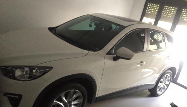 Cần bán xe Mazda CX 5 2.0 AT 2WD đời 2014, màu trắng