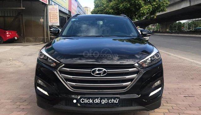 Bán xe Hyundai Tucson 2.0 ATH 2017, màu đen, 845 triệu, bao test hãng
