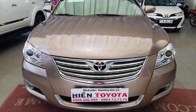 Bán Toyota Camry 2.4G đời 2008, màu nâu